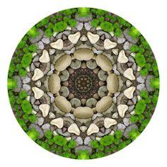 Heart Rock - Nature Mandala 14 Digital Art  - Heart Rock - Nature Mandala 14 Fine Art Print