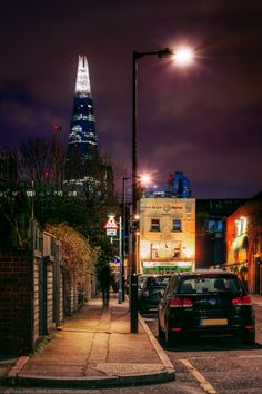 The Shard from Blackfrairs Road, London, England