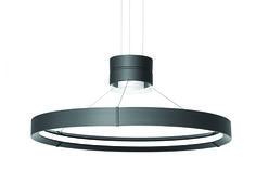 Litecontrol : Products : Pendant Mounted : Inde-Pendant 32 LED Cylinder & Ring Pendant Indirect/Direct