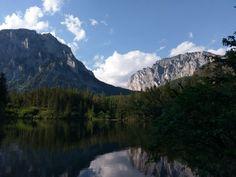 A magnificent view at Grüner See Austria