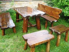 Masivní sestava Staročech Picnic Table, Dining Table, Rustic, Furniture, Home Decor, Country Primitive, Decoration Home, Room Decor, Dinner Table