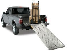 I'm constantly helping my friends move (since I have a truck). This ramp would be a huge help!