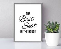 Toilet Print The Best Seat In The House Toilet Printable Modular Wall Art, Toilet Art, Lavender Decor, Bathroom Wall Art, Wall Printables, Funny Toilet Signs, Funny Bathroom Art, Toilet, Bathroom Decor