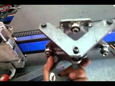 CNC bearing slider - YouTube