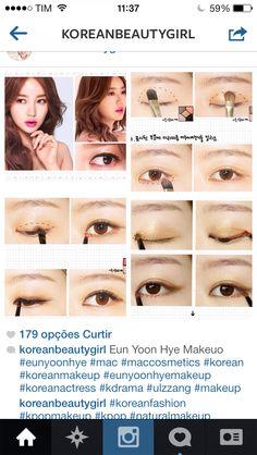 Korean make up cute