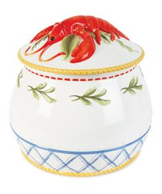 Love this Clam Bake Lidded Soup Tureen on #zulily! #zulilyfinds