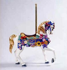 Pasquale Pileggi: Carousel Horses.