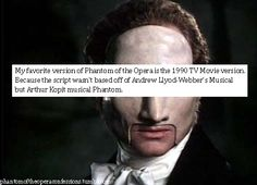 This is my favorite version too. Charles Dance is the best Phantom in my opinion.