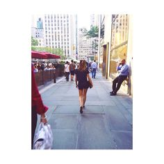 Walking around #NYC  #missing those #streets