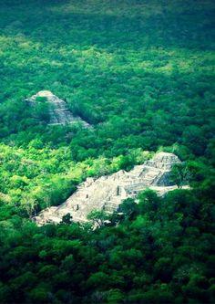 Calakmul es una de las ciudades mayas más importantes en Campeche.