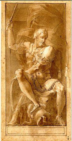 François Ier en César - Category:Francesco Primaticcio - Wikimedia Commons