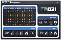 Bit-bashing step sequencer with attitude from Audio Damage available now...