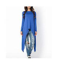 Bluzka BAT tunika oversize kobaltowa , bluzki - tuniki