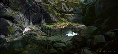 ArtStation - Black Wind Cave, yang qi917