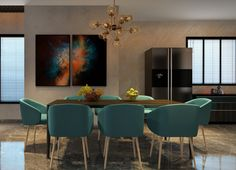 Dinning Table is heart of our home because we seat with whole family at the time – Interior4world