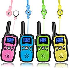 Buy Wishouse Rechargeable Walkie Talkies for Kids 3 Pack with Charger Battery, Two Way Radio Family Talkabout Long Range, Outdoor Game Camping Adventure Toys Birthday Xmas Gifts for Girls Boys Age Gifts For Teen Boys, Teen Girl Gifts, Birthday Gifts For Girls, Toys For Girls, Boy Gifts, Birthday List, Children's Day Gift, Kids Electronics, Shopping