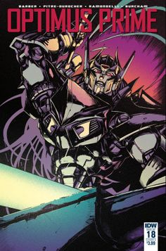 Transformers News: Variant Covers for IDW Transformers Optimus Prime #17 and #18 by Zama / Burcham