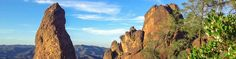 Pinnacles National Park (the newest National Park) offers hiking (even through a cave that requires a flashlight!) and camping. Is located 2 hours NW of Karen's.