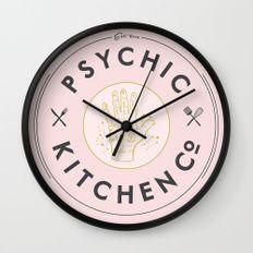 Psychic Kitchen Wall Clock