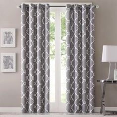 Madison Park Westmont Geometric Pattern Curtain Panel (Single) | Overstock.com Shopping - The Best Deals on Curtains