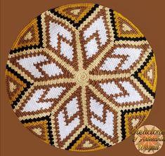 Crochet Chart, Knit Crochet, Crochet Clutch Pattern, Tapestry Crochet, Weaving Patterns, Bracelet Patterns, Base, Mosaic, Mandala