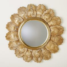 Global Views Peacock Feather Wall Mirror - 9.92680