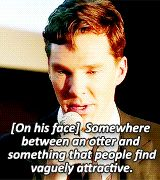 He doesn't even know how good looking he is. | 31 Reasons We're Addicted To Benedict Cumberbatch