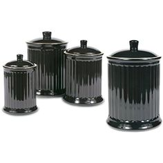 Purple Enamel Finish Tea Coffee Sugar Jar Canisters 1000ml Multi Purpose Storage Jars Set With Glass Window