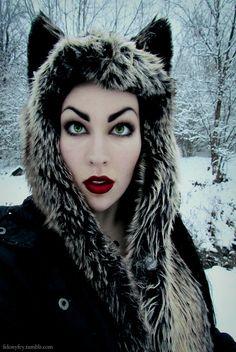 """Sneak-peek from winters last snow"""" photoshoot. :3"""
