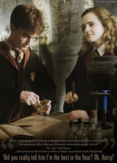 Harry & Hermione forever.