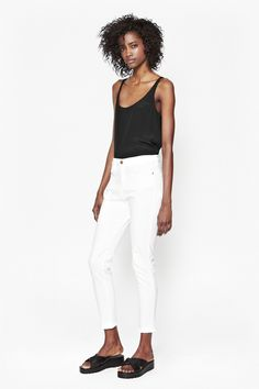 Slim Cropped Jeans -