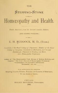 Homeopathy and Health - Free E-book