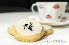 Earl Grey Tea Cookies with Sweet Lemon Frosting