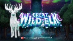 Play online slot game Great Wild Elk now at SlotPages casino & win huge gold and cash prizes. Play to bet your luck! #slots #casino Sign up to get £5 now!! https://www.slotpages.com/games/great-wild-elk/?dynamic=socialVIP