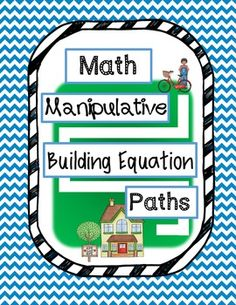 Math Manipulative Building Equation Paths