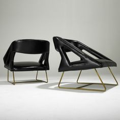 Pair of armchairs by Pierre Guariche | Caira Mandaglio