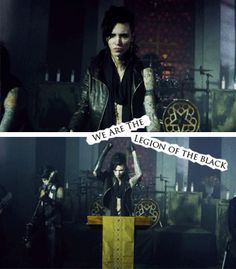 legion of the black: black veil brides =Andy Biersack This is the Greatest Band I've seen in awhile!