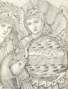 Edward Coley Burne-Jones, The Days of Creation, 1871 (detail).