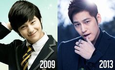 Kim Bum now and then ^^