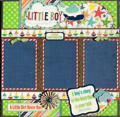 57 ideas baby boy scrapbook layouts color combos for 2019 Baby Boy Scrapbook, Baby Scrapbook Pages, Papel Scrapbook, Scrapbook Sketches, Scrapbook Page Layouts, Scrapbook Paper Crafts, Scrapbook Cards, Scrapbook Photos, Picture Layouts