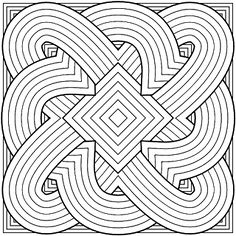 Don't Eat the Paste: Geometric Rainbow Box and Coloring Page