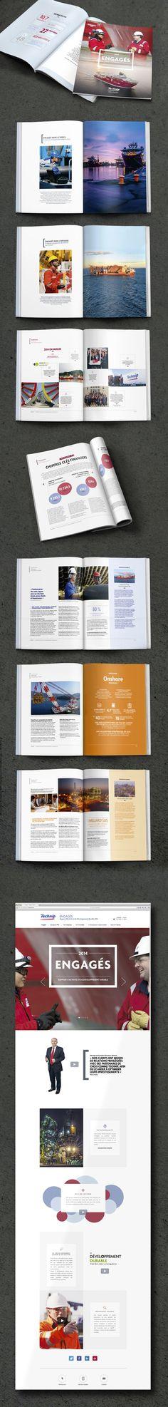 [Inspirations éditoriales] - Mise en page d'un magazine de plusieurs pages