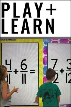 Grade Fraction FREE Game [Converting Improper Fractions to Mixed Numbers] 4th Grade Fractions, Improper Fractions, Upper Elementary Resources, Elementary Education, Literacy Activities, Literacy Centers, Classroom Games, Classroom Ideas, Place Value Math Games