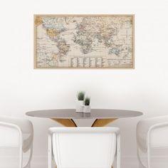 Dutch Antique World Map
