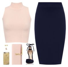 """""""Sin título #4134"""" by mdmsb on Polyvore featuring moda, WearAll, Gianvito Rossi, Yves Saint Laurent, Casetify y Rivka Friedman"""