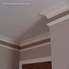 Create the look of higher ceilings with molding tricks