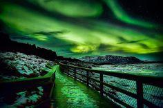 Aurora Thunderstorm (Thingvellir National Park - Iceland) | Most Beautiful Pages