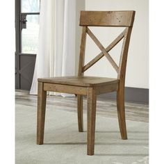 Signature Design by Ashley Trishley Dining Chair (Pack of 2), Light Brown