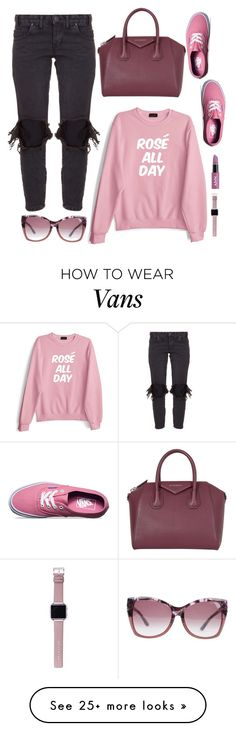 """ROSE ALL DAY"" by licethfashion on Polyvore featuring One Teaspoon, Private Party, Vans, Givenchy, Tom Ford and Fitbit"