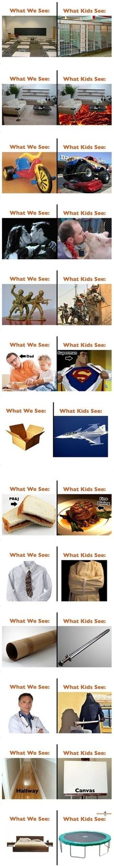 What We See & What Kids See